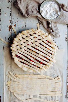rhubarb pie//