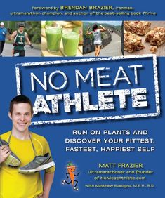 Unbelievable -- ranked #1 on Amazon in Running, #2 in Vegetarian! So amazingly grateful.