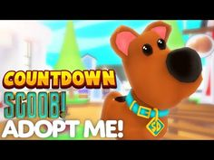 ROBLOX ADOPT ME SCOOB UPDATE COUNTDOWN! Livesteam Roblox Trading And Giveaways - YouTube Games Roblox, Roblox Roblox, Roblox Gifts, Roblox Memes, Scooby Doo, Roblox 2006, Flag Game, Mystery, Ghost Dog