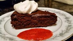 Rich Chocolate Gluten Free Cake that's Deliciously low in carbs