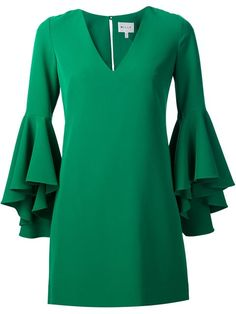 MILLY Ruffle Sleeves Dress. #milly #cloth #dress