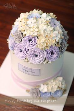 [thisiscake Korea] buttercream flower cake by www.thisiscake.co.kr