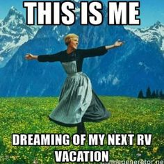 Hah! RVing folks do this even when they full-time! What next trip are YOU dreaming of? #RVing #RVillage