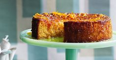 Satisfy your senses with this aromatic gluten-free Persian orange and almond cake.