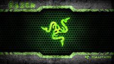 Wallpapers Razer Nature Green Logo