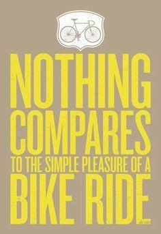 INSPIRING BICYCLE QUOTES   Barton Haynes shares his favorite inspiring bicycle quotes on his latest blog post.