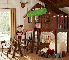 Fort Bed #PotteryBarnKids