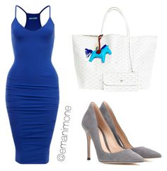 013 by emanimone on Polyvore featuring polyvore, fashion, style, Gianvito Rossi and Goyard