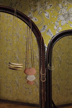 fall collection from anthro = necklace perfection    sabal arc ... horn pavilion ... tassel-blaze ... coiled crescent