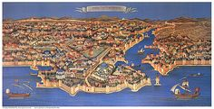 Medieval map of Constantinople  Annunciation Cathedral Herald - Apr 2009