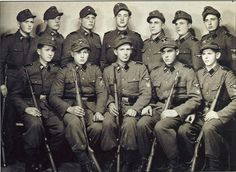 Troopers of the Waffen SS 14'th Galacia Division