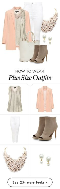 """""""Fall Outfit -- #Plus Size"""" by kimberlyn303 on Polyvore featuring New Look and Manon Baptiste"""