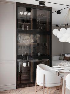 Living Room Interior, Kitchen Interior, Modern Interior, Interior Architecture, Kitchen Decor, Interior Design, Home Room Design, Dining Room Design, House Design