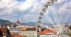 Óriáskerék Budapest Budapest, Ferris Wheel, Opera House, Fair Grounds, Building, Travel, Viajes, Buildings, Destinations
