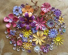 enamel flowers