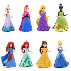 Doll Gift Set: Disney Princess, featuring Anna and Elsa from Frozen Frozen Princess, Elsa Frozen, Disney Frozen, Disney Princess, Disney Dolls, Barbie Dolls, Lyna Youtube, My Life Doll Accessories, Kids Birthday Presents