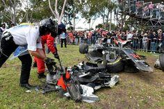 formula 1 crash flip