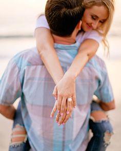 """""""Love this capture by Engagement Session, Engagement Photos, Torrey Pines, Couple Beach, Beach Couples, La Jolla, Destination Wedding Photographer, Portrait Photographers, Summertime"""