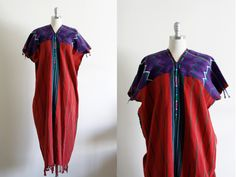 Vintage Guatemalan Huipil Dress / Free Size by wemovevintage on Etsy