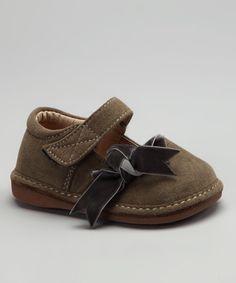 $18.99 Gray Suede Claire Squeaker Shoe