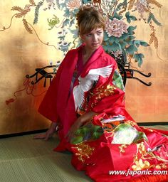 japanese traditional wedding kimono