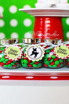 Adorable easy Christmas Teacher gift!