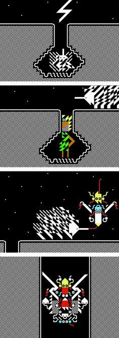 2SLEEP1, musique générative et pixel art !