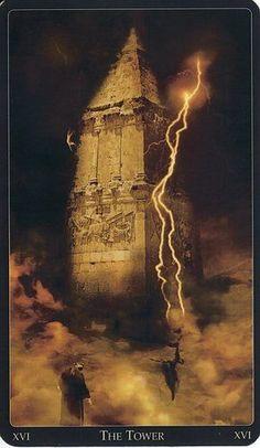 The Tower - Lebanese Tarot - Rozamira Tarot - Picasa Web Albums