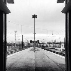 Symétrie à la gare de Metz.