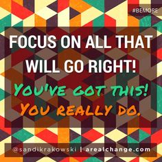 Good morning!! Here's your assignment to help you #BEMORE today! Shift your focus- change your life!