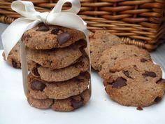 Chrumkavé čoko-cookies bez lepku a laktózy - Fitshaker Ale, Cookies, Desserts, Food, Crack Crackers, Tailgate Desserts, Deserts, Ale Beer, Biscuits