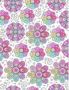Flowers Power Cute Wallpaper Backgrounds, Cute Wallpapers, Mandala, Flow, Art, Pattern, Gaming, Flowers, Art Background