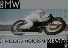 BMW Schnellstes Motorrad - Der Welt- Canvas Motorcycle Poster on Canvas Motorcycle Posters, Motorcycle Art, Bike Art, Antique Motorcycles, Bmw Motorcycles, Bmw Classic Cars, Classic Bikes, Motos Bmw, Bmw Vintage
