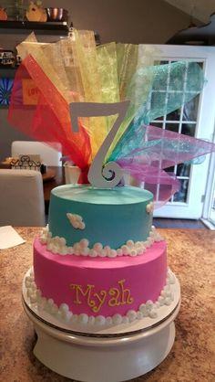 Rainbow my little pony cake by Karen's Kaykes