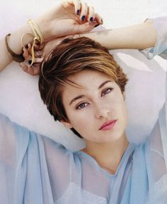 Shailene Woodley Short Hair - http://www.weddideas.com/hairstyle-ideas/shailene-woodley-short-hair.html