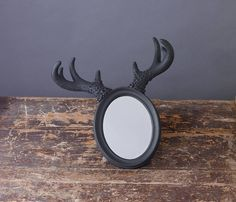 Deer Horn Mirror Off Clearance Sale by Impulse Purchase, the perfect gift for Explore more unique gifts in our curated marketplace.