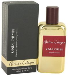 Atelier Cologne Santal Carmin Pure Perfume Spray for Men (3.3 oz/97 ml)
