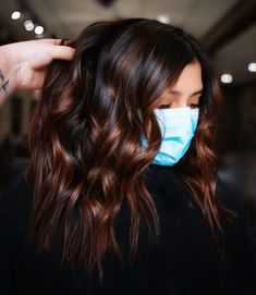 Hair Color Pink, Hair Color For Black Hair, Cool Hair Color, Brown Hair Colors, Fall Hair Colors, Hair Color And Cuts, Dark Hair Style, Black Colored Hair, Black Hair With Ombre