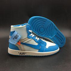 1e055ece4ae OFF-WHITE x Air Jordan 1 Powder Blue Shoes on www.soldier12shoe.com