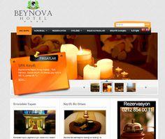 Beynova Hotel  Web tasarım