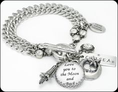 Anniversary Gifts, Gifts for wife, Love you to the Moon and Back gifts - Blackberry Designs Jewelry