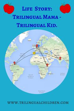 Trilingual mama - trilingual kid. Why would it be any other way? Natalie's parents raised their kids trilingual long before nowadays multilingual parenting book plethora and well before anyone can google everything.  They did think there was a choice!  And now the story repeats ...