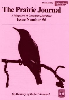 """The Prairie Journal - A magazine of Canadian literature  """"Since 1983 The Prairie Journal has been publishing new voices, established authors, reviews, interviews, and artwork. Each issue is filled to the brim with short fiction, creative nonfiction, prose, poems, and drama. Subscribe now and don't miss out on (re)discovering our prairie perspective in contemporary Canadian Literature."""""""