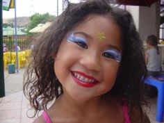 Aw the face paint suits her cute little face Beautiful Children, Cute Kids, Carnival, Suits, Face, Painting, Beautiful Kids, Carnavals, Painting Art