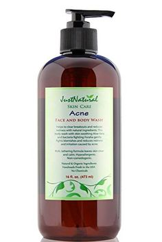 Acne Face and Body Wash  Best Wash Made for Facial  Body Acne  Clear Clean Skin >>> Details can be found by clicking on the image.