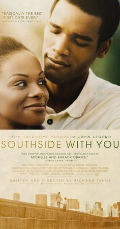 Inspired by Barack and Michelle Obama's first date, SOUTHSIDE WITH YOU recounts the eventful summer day in 1989 when a young law firm associate named Barack Obama tried to woo lawyer Michelle Robinson during a daylong date. Vanessa Bell, Streaming Movies, Hd Movies, Movies To Watch, Movies Online, Hd Streaming, 2016 Movies, Movies Free, Indie Movies