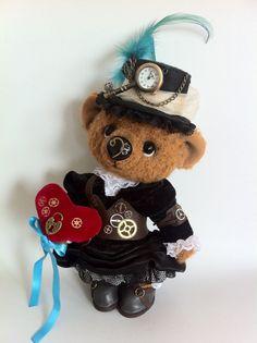 Steampunk - Bear Vanessa for adoption!
