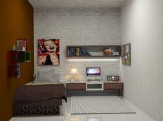 desain kamar kost rapi biaya murah