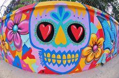 DIA DE LOS MUERTOS/DAY OF THE DEAD~Street art in Mexico