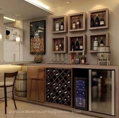 Home bar ideas cabinet basements 46 New Ideas Bar Interior, Interior Design, Home Bar Rooms, Home Bar Decor, Basement Bar Designs, Home Bar Designs, Bar Sala, Bar Shelves, Wall Bar